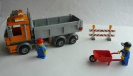 FIGURINE LEGO CITY 4434 CAMION BENNE - Figurines
