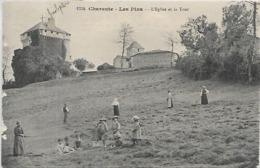 16, Charente, LES PINS, L'Eglise Et La Tour, Scan Recto Verso - France