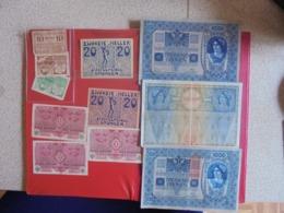 AUTRICHE LOT DE 11 BILLETS (B.7) - Monedas & Billetes