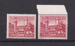 Deutsches Reich - 1939 - Michel Nr. 735 X+y - Postfrisch - 44 Euro - Germany