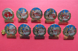 Serie 10 Pin's,Sport,Velo,TOUR DE SUISSE,Cycliste,Bike,d'ore,limité - Cyclisme