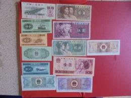 CHINE LOT DE 12 BILLETS (B.7) - Munten & Bankbiljetten