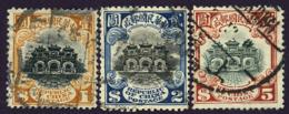 CHINA Republic 1913 Hall Of Classics Yt 162 - Yt 163 - Yt 164 Watermarked - Chine