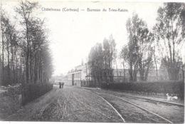 Châtelineau NA36: Corbeau. Bureaux Du Trieu-Kaisin 1909 - Châtelet