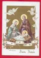 CARTOLINA VG ITALIA - BUON NATALE Sacra Famiglia - ZANDRINO - AR CF 13 N 2 - 10 X 15 - 1963 - Altri