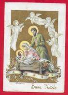 CARTOLINA VG ITALIA - BUON NATALE Sacra Famiglia - ZANDRINO - AR CF 13 N 5 - 10 X 15 - 1962 - Natale