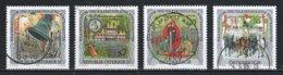 Autriche : Timbres Yvert & Tellier N° 2124 - 2183 - 2377 - 2418 - 1946 - 1980 - 2081 Et 2377 Avec Oblit. Rondes. - 1945-.... 2ème République
