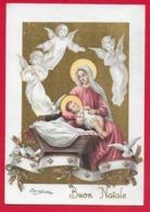 CARTOLINA VG ITALIA - BUON NATALE Sacra Famiglia - ZANDRINO - AR CF 13 N 1 - 10 X 15 - 1961 - Altri
