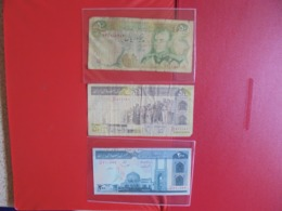 IRAN LOT DE 3 BILLETS (B.7) - Monnaies & Billets