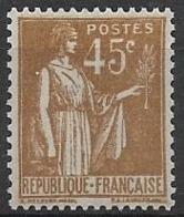 N°282 Neuf ** 1932-33 - Frankreich