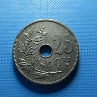 Belgium 25 Centimes 1908 - 05. 25 Centimes