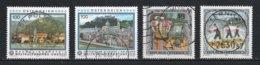 Autriche : Timbres Yvert & Tellier N° 2553 - 2678 - 1871 Et 1930 Avec Oblit. Rondes. - 1945-.... 2ème République