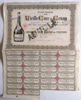 Vielle  Cure De Cenon. - Aandelen