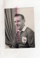 15 LANOBRE- RARE PHOTO ORIGINALE ROBERT VIGIER RUGBY- EQUIPE DE FRANCE- AS MONTFERRAND - NE A LANOBRE EN 1926-MORT 1986 - Sports