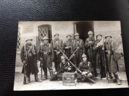 Photo Carte Militaire Militaria Soldats - Militaria