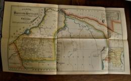 Carte De La Prefecture Apostolique Au  KWANGO ( Rond 1900) - Maps