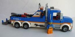 FIGURINE LEGO CITY 60056 CAMION DEPANEUSE Avec Notice - Poppetjes