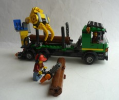 FIGURINE LEGO CITY 60059 CAMION TRANSPORT DE BOIS - Figurines