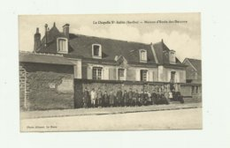 72 - LA CHAPELLE SAINT AUBIN - Maison Ecole Des Garcons Belle Animation - France