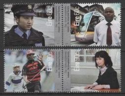 Ireland - Eire (2013) - Set -  /   Polizei - Police - Policia - Trains - Tren - Police - Gendarmerie