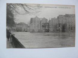CPA 77 SEINE ET MARNE - MEAUX : Inondations De 1920 - Les Moulins Du XII éme Siècle - Meaux