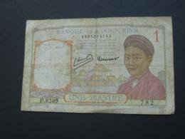 1 Piastre  - Banque De L'Indochine 1946 **** EN ACHAT IMMEDIAT **** - Indochine