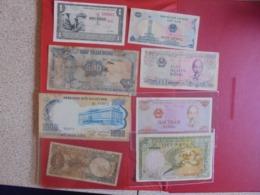 VIETNAM LOT DE 8 BILLETS (B.7) - Munten & Bankbiljetten