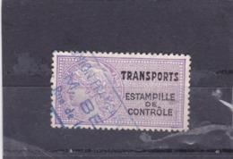 T.F. Transports Estampille De Contrôle N°9A - Revenue Stamps