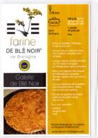 CP, Galette De Blé Noir, Bretagne, Recette De Cuisine Bretonne - Recettes (cuisine)