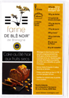 CP, Cake Au Blé Noir Aux Fruits Secs, Bretagne, Recette De Cuisine Bretonne - Recettes (cuisine)