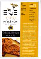 CP, Cake Au Blé Noir Aux Fruits, Bretagne, Recette De Cuisine Bretonne - Recettes (cuisine)