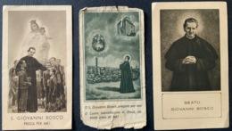 """N.2 Antico Santino - Holy Card """" S. GIOVANNI BOSCO """"  Imprimatur 1934 - Religione & Esoterismo"""