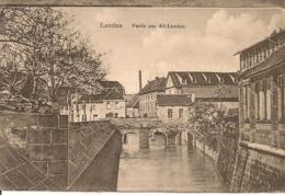 LANDAU - Partie Aus Alt-Landau -câchet Trésor Et Postes,Télégramme Militaire - Landau