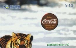 CHINA. FAUNA. PUZZLE. TIGRE - TIGER. XSBN2005-625(4-2). (020). - Puzzles
