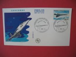 "FDC France 1969   N° PA 43   Premier Vol Supersonique  "" Concorde "" - FDC"