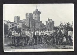 Ciclismo - Fotografia Dopo Lavoro Ciclisti Di Rovato - Convegno Sirmione 1928 - Non Classificati