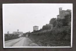 Fotocartolina Di Rovato (Brescia) - Entrata Al Paese - Anni '20 - Non Classificati
