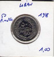 Liban. 50 Piastres 1978 - Liban