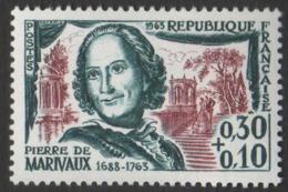 France Neuf Sans Charnière 1963 Célébrité Ecrivain Littérature Théâtre Marivaux YT 1372 - Francia