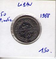 Liban. 50 Piastres 1968 - Libanon