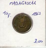 Madagascar. 10 Francs 1953 - Madagascar