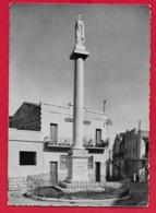 CARTOLINA VG ITALIA - ALTAMURA (BA) - Colonna Della Madonnina - 10 X 15 - 1957 - Altamura