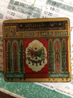 Régie Des Tabacs De L'Empire Ottoman ( Boite En Fer) - Boites à Tabac Vides