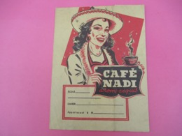 Protège-Cahier/Café/ Café NADI Arôme Exquis/ Le Cirque Nadi  /Vers 1950  CAH224 - Koffie En Thee