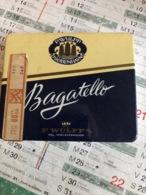 Boîte De Cigare Bagatello ( Boîte En Fer) - Boites à Tabac Vides