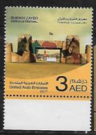UAE- (UNITED ARAB EMIRATES)- 2017 Arab Heritage-Sheik Zayed Heritage Festival  - MNH - Emirati Arabi Uniti