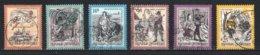 Autriche : Timbres Yvert & Tellier N° 2041 - 2055 - 2058 - 2069 - 2070 - 2085 - 2102 - 2117 Et 2147 Avec Oblit. Rondes. - 1945-.... 2ème République