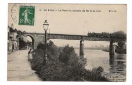 78 YVELINES - LE PECQ Le Pont Du Chemin De Fer Et La Cité (voir Descriptif) - Le Pecq