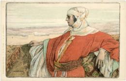 COLLECTION DES CENT. Carte Neuve N° 6 Illustrée Par GIRARDOT, Représentant Une Femme Orientale. TB - Autres Illustrateurs