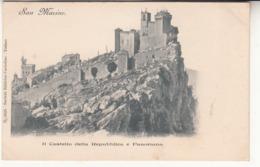 San Marino - Il Castello Della Repubblica E Panorama - Saint-Marin